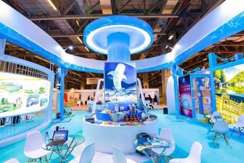 承攬珠海市參加第八屆澳門國際旅遊產業博覽會特裝展位搭建項目
